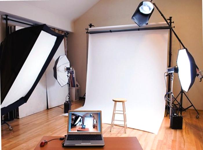 Компьютер, ноутбук, освещение для вебкам модели