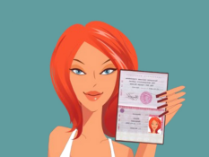 Веб модель без паспорта